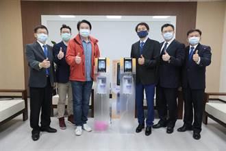 和成欣業助防疫 基隆獲20部「臉護士智能防疫防護裝置」