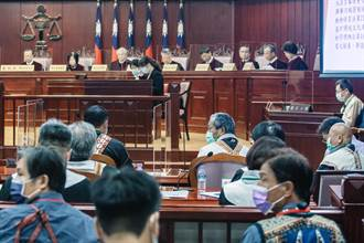 司法史上頭一次  原住民站上憲法法庭