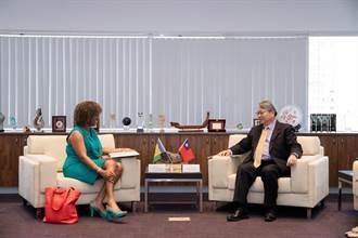 聖文森及格瑞那丁駐台大使拜會中市府 副市長令狐榮達盼加強雙方交流