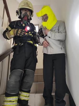 桃园大溪火警 所幸装设住警器无人伤亡