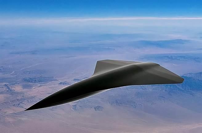 新加坡凯利航太公司,将要推出的超音速无人机「飞箭」。(图/Kelley Aerospace)