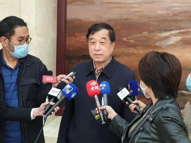 大陸全國人大代表、北京大學台灣研究院院長李義虎。(本報資料照片,藍孝威攝)