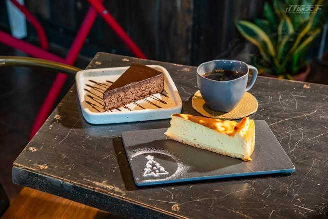 老闆娘手作蛋糕是超人氣餐點,每日限量。(圖/行遍天下提供)