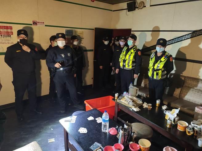 治安零容忍!平鎮警強力執法、全面掃蕩黑幫斷金流。