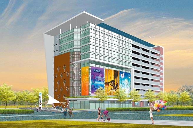 彰化市第二停車場BOT案已正式上網公告招商,企盼打造全新複合性百貨商場。(彰化市公所提供/吳敏菁彰化傳真)