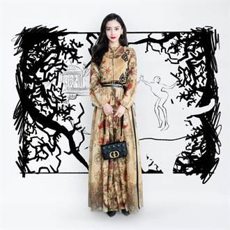 DIOR邀Angelababy、木村心美、秀智 走入童话世界