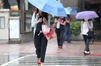 明回暖一天 周末冷空氣再襲 水氣更多雨區擴大
