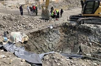 南屯工人遭砂石砸中掩埋 警消到場救援幸無大礙