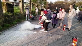 佛教弘誓學院加強消防宣導 70人響應