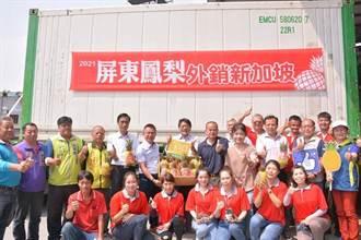 開拓外銷市場 屏東鳳梨前進新加坡餐廳及超市通路
