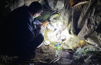難逃天羅地網 屏環保局逮非法棄置廢棄物司機