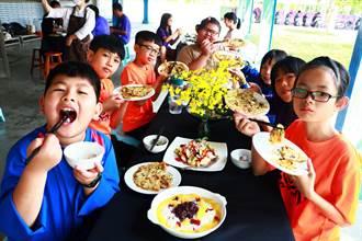 大明國小食農教育有妙招 小小廚師「米蔬餅」、「米布丁」上菜囉