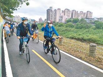 景美溪左岸自行车道 完工启用