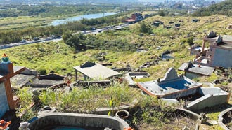 鶯歌第一公墓增建納骨塔 補助遷葬