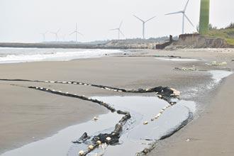 廢棄漁網 盤踞竹南假日之森