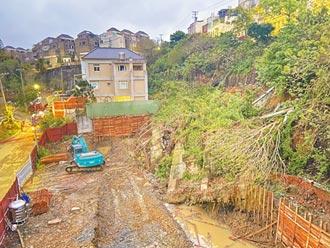 竹市社區邊坡坍塌 究責建商