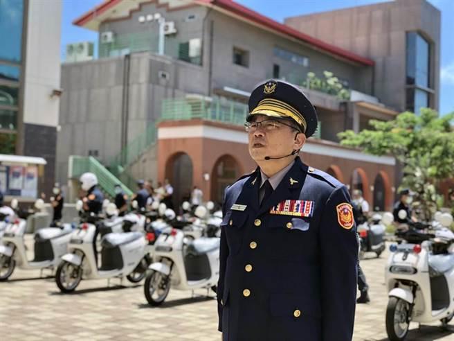 轄區連續發生黑幫仇殺案的台南市警四分局蔡進閱被改調佳里警分局長以示負責。(本報資料照片)