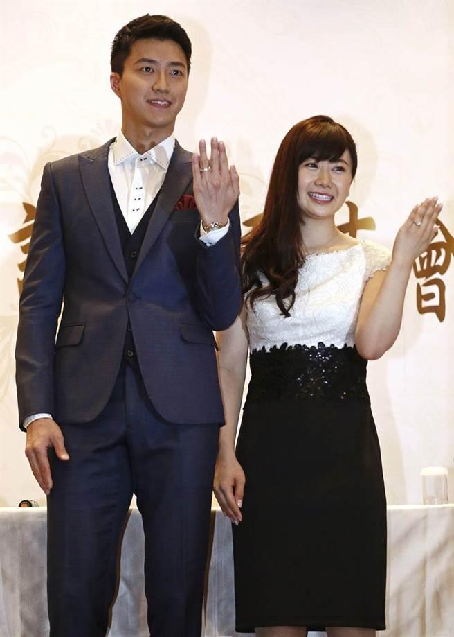 江宏杰、福原爱受婚变风波缠身,4年多的台日婚姻亮起红灯。(图/本报系资料照片)