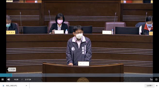 客家事務局代理局長戴興達表示,會全力爭取過關,有關活動時程等因素,會向客委會討論。(蔡依珍攝)