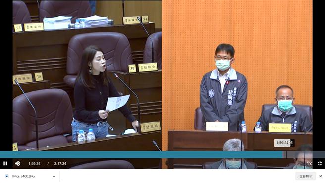 議員舒翠玲認為一定要待全台達7成接種率、有群體免疫力後再舉辦。(蔡依珍攝)