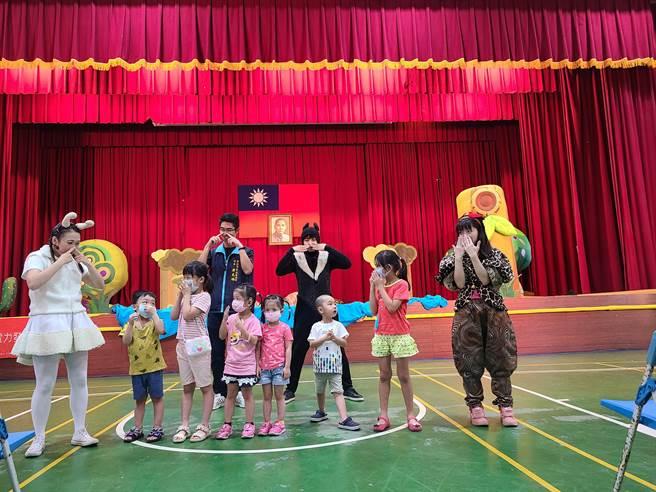 金山區公所將舉辦「兒童藝文月」巡迴展演。(新北市金山區公所提供)