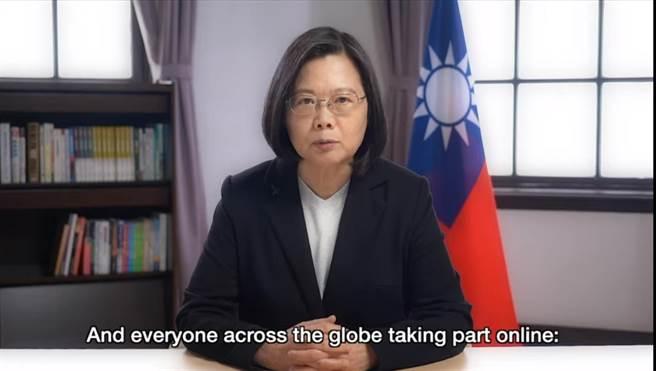 蔡英文總統開幕致詞(總統府提供)