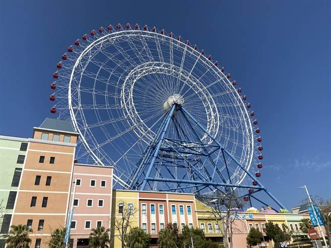 台中市海線地區獲大型商場與遊樂園重大建設進駐,人潮帶來錢潮,繁榮地方。(盧金足攝)
