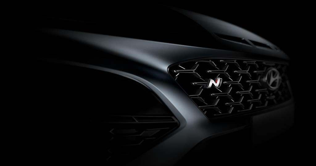 不藏了!Hyundai在Kona N發表之際公布一系列相當明顯的預示輪廓圖