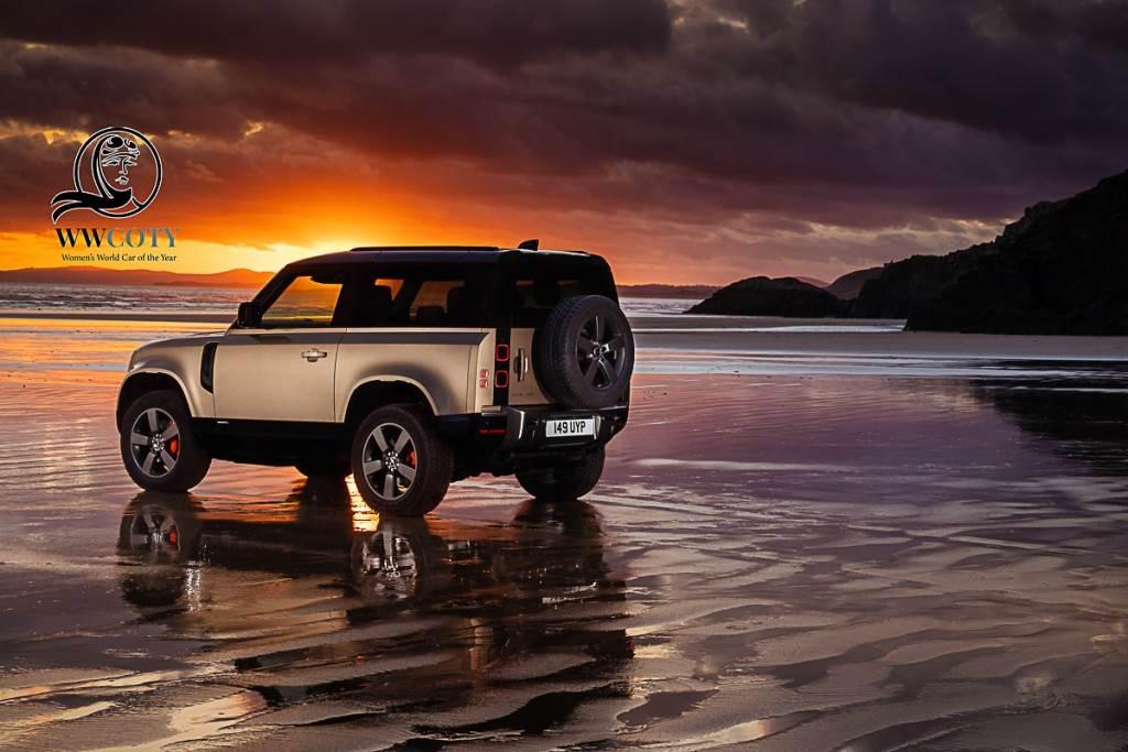 用車意識型態改變的最佳證明 Land Rover Defender奪得本年度「女性年度風雲車」頭銜