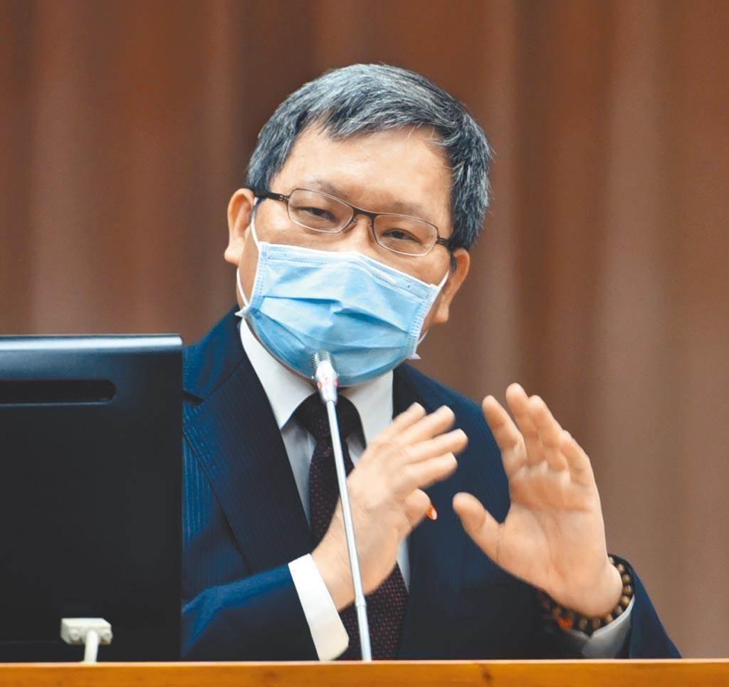 圖為財政部部長蘇建榮。(本報資料照片)