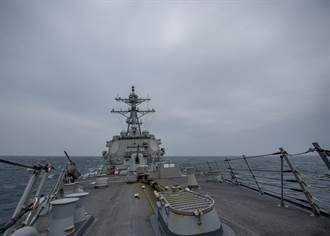 拜登上任以來第3次 美小神盾軍艦穿越台海