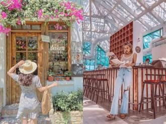 台南新景點推薦 夕陽黃金沙灘加玻璃咖啡廳美到發泡