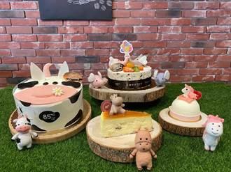 85度C兒童節蛋糕開賣 4種超萌動物來了