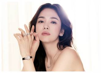 宋慧喬更美了 戴CHAUMET珠寶添女皇魅力