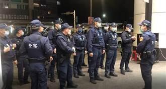 北市警兩週大掃黑 逮53名幫派分子