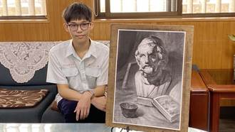 大學術科美術組全國榜首 姚仲鈞:將考試回歸喜歡畫圖的樣子