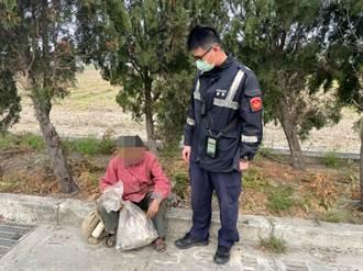 北港暖警尋獲失蹤6年男子 助返家團圓
