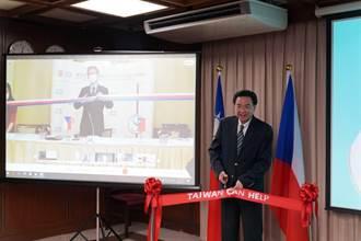 口罩機捐贈捷克 吳釗燮:台灣是各國可信賴夥伴