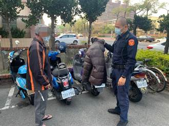 羽絨外套掛機車上變一般夾克 佳里警24小時找到偷「換」衣賊