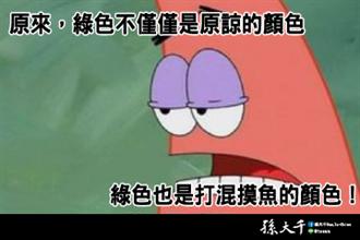 批蔡政府執政5年全無超前部署 孫大千:綠色是打混摸魚的顏色