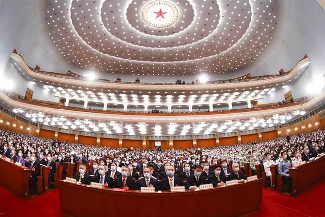 圖為2020年13屆第3次全國人大會議。(中新社資料照)