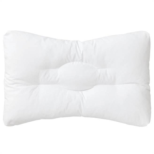 無印良品PE單面可水洗枕,原價1590元,降至699元。降幅達56%。(無印良品提供)