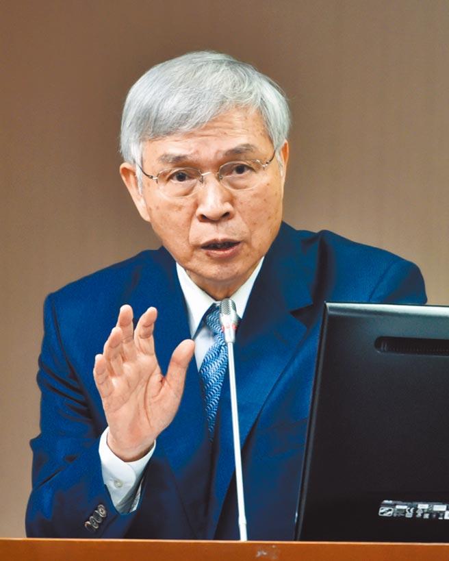 中央銀行總裁楊金龍。(本報資料照片)
