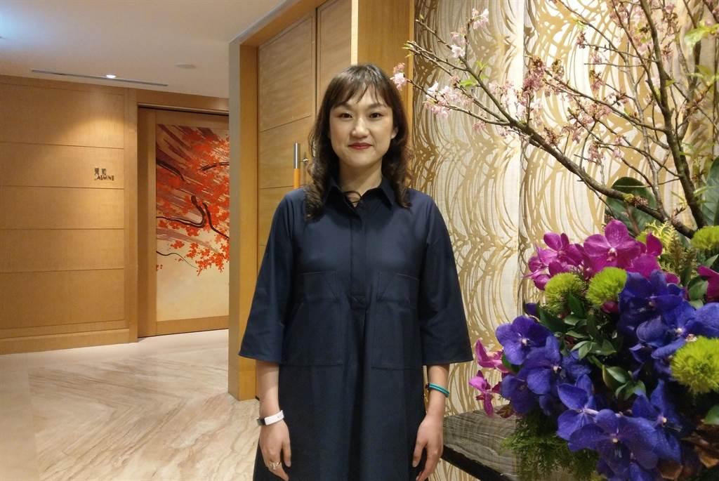 名軒開發董事長吳泓瑩看好淡海新市鎮,520檔期將推出總銷188億元淡海造鎮案「名軒海樂地」。(葉思含攝)