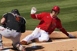 MLB》打擊率破5成 大谷翔平連5戰敲安
