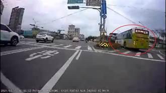 宜蘭公車市區猛秀鬼之神切 道路當賽車場嚇壞路人
