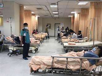 東港高中164人嘔吐腹瀉送醫 疑營養午餐惹禍