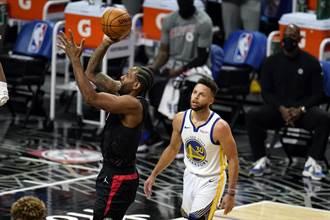 NBA》柯瑞三分手感超冷 勇士作客遭快艇痛宰
