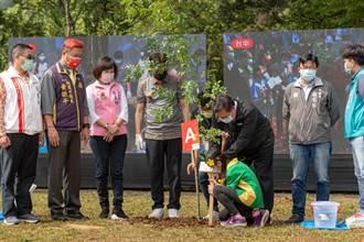 台積電啟動4城市連線植樹活動 桃師生化身「種樹神手」增添公園綠意