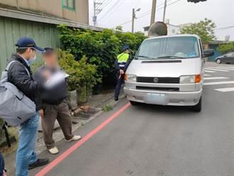 苗栗監理站會同警方攔查 開罰白牌計程車
